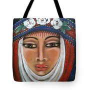 Eleanor Of Aquitaine The Lioness In Winter Tote Bag