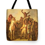 Election Scene Catonsville Tote Bag