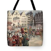 Election To The Empire The Procession Tote Bag