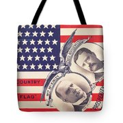 Electoral Poster For The American Presidential Election Of 1900 Tote Bag