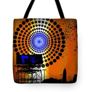 Electric Avenue Tote Bag