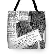 Electric Brushes, 1882 Tote Bag