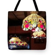 Electric Butterflies Tote Bag