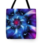 Electric Colours Tote Bag