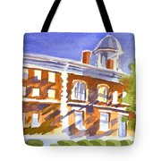 Electric Courthouse Tote Bag