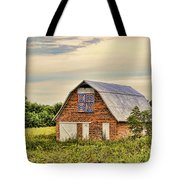 Electric Fan Quilt Barn Tote Bag