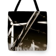Electric Fence Duo Tone Tote Bag