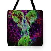 Electric Glowing Personality Tote Bag