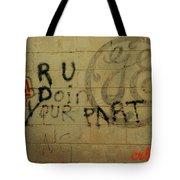 Electric Graffiti  Tote Bag
