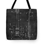 Electric Guitar Patent 039 Tote Bag