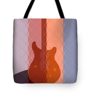 Electric Guitar Solo Tote Bag