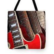 Electric Guitars Closeup Tote Bag