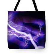Electric Hand Tote Bag