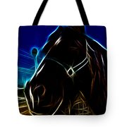 Electric Horse Tote Bag