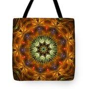 Electric Mandala 1 Tote Bag