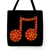 Electric Notes Tote Bag