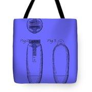 Electric Razor Patent 1939 Tote Bag
