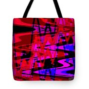 Electric Shivers Tote Bag