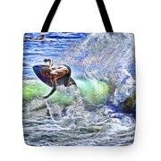 Electric Splash Tote Bag