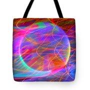Electric Star Tote Bag
