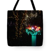 Electric Still Life Tote Bag