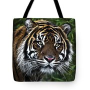 Electric Tiger Tote Bag