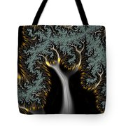 Electric Tree - Phone Cases And Cards Tote Bag