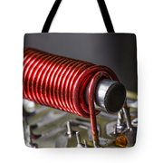 Electrical Coil With Iron Core Tote Bag