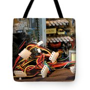 Electronic Octopus Tote Bag