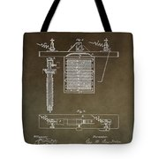 Electroplating Procedure Patent Tote Bag