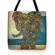 Elefantos - 01ac03at03b Tote Bag by Variance Collections