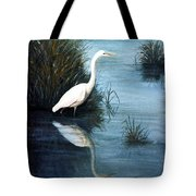 Elegance In White Tote Bag
