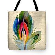 Elegant Feather-b Tote Bag