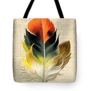 Elegant Feather-c Tote Bag
