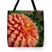 Elegant In Orange Tote Bag