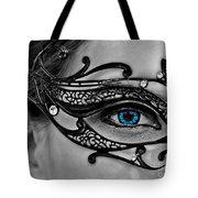 Elegant Mask Tote Bag