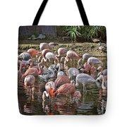 Elegant Pink Tote Bag