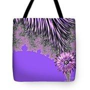 Elegant Tentacles Purple And Lilac Tote Bag