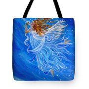 Elemental Earth Angel Of Wind Tote Bag