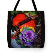 Elements Of Fall Tote Bag