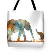Elephant 01-2 Tote Bag
