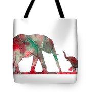 Elephant 01-6 Tote Bag