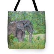 Elephant At Kruger Tote Bag