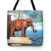 Elephant Castle Tote Bag