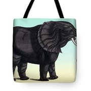 Elephant From The Historiae Animalium 16th Century Tote Bag
