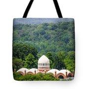 Elephant House At Cincinnati Zoo And Botanical Garden Tote Bag by Paul Velgos
