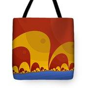 Elephant Lake Tote Bag