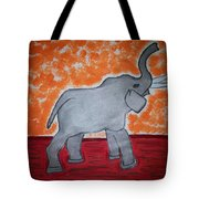 Elephant N Time Out Tote Bag