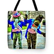 Elephant Or Donkey Tote Bag