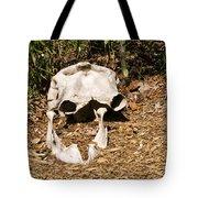 Elephant Skull Tote Bag